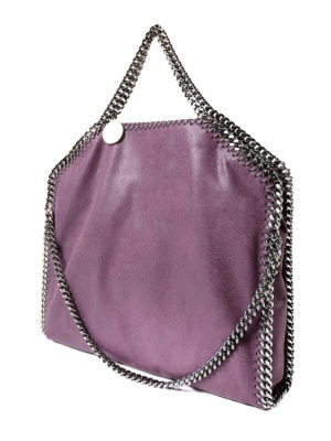 Stella Mccartney: totes bags online - Falabella amethyst fold over bag