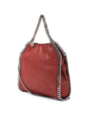 Stella Mccartney: totes bags online - Falabella mini tote shaggy deer