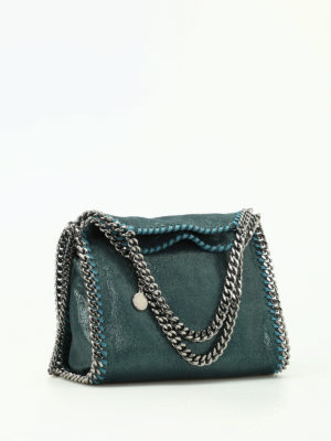 Stella Mccartney: totes bags online - Falabella shimmering mini bag
