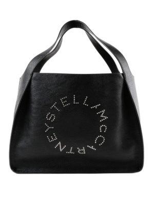 STELLA McCARTNEY: shopper - Borsa Paradise in Alter-Nappa nero