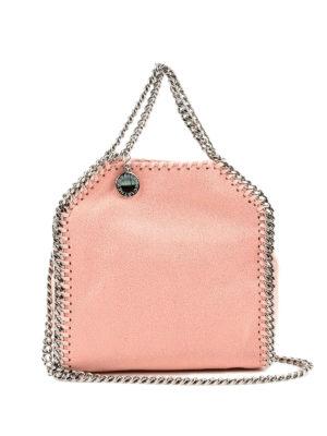 STELLA McCARTNEY: shopper - Tracolla Tiny Falabella  rosa