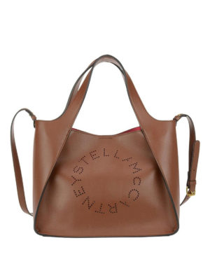 STELLA McCARTNEY: shopper - Borsa Stella in simil pelle