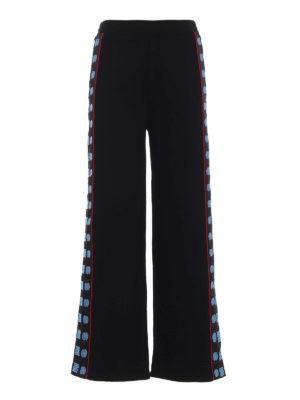 STELLA McCARTNEY: pantaloni sport - Pantaloni della tuta con bande logo