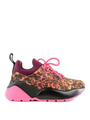 STELLA McCARTNEY: sneakers - Sneaker Eclypse animalier