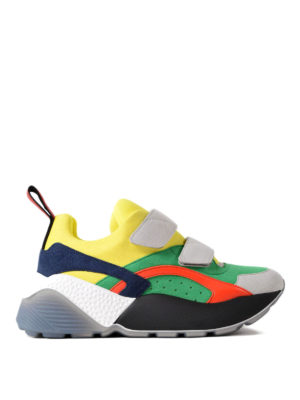 Stella Mccartney: trainers - Eclypse Color-Block sneakers