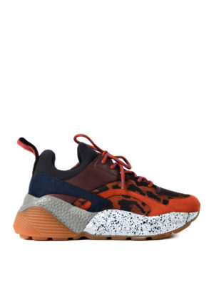 Stella Mccartney: trainers - Multi Eclypse texturized sneakers