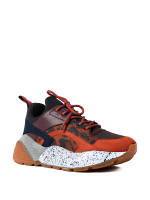 Stella Mccartney: trainers online - Multi Eclypse texturized sneakers