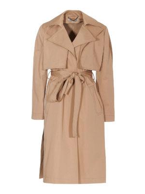 STELLA McCARTNEY: trench coats - Organic cotton trench