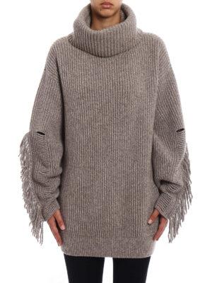 Stella Mccartney: Turtlenecks & Polo necks online - Fringed cashmere over turtleneck