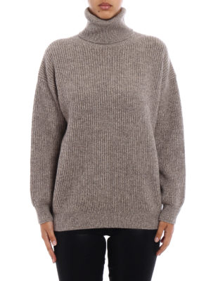 Stella Mccartney: Turtlenecks & Polo necks online - Melange cashmere over turtleneck