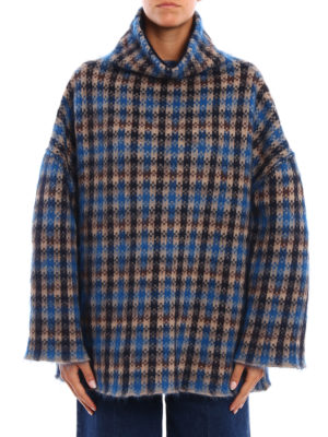 Stella Mccartney: Turtlenecks & Polo necks online - Wool and mohair oversize sweatshirt