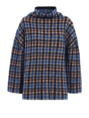 Stella Mccartney: Turtlenecks & Polo necks - Wool and mohair oversize sweatshirt