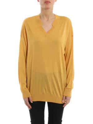Stella Mccartney: v necks online - Wool and silk pullover