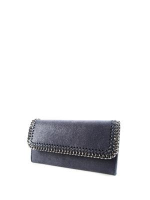 Stella Mccartney: wallets & purses online - Falabella chain detail wallet