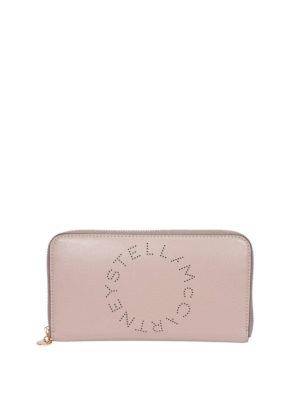 STELLA McCARTNEY: wallets & purses - Stella logo continental wallet