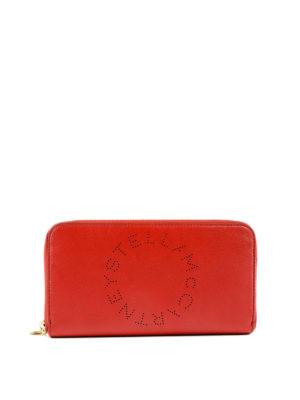 STELLA McCARTNEY: portafogli - Portafoglio Stella Logo rosso