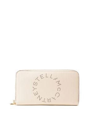 STELLA McCARTNEY: portafogli - Portafoglio Stella Logo bianco