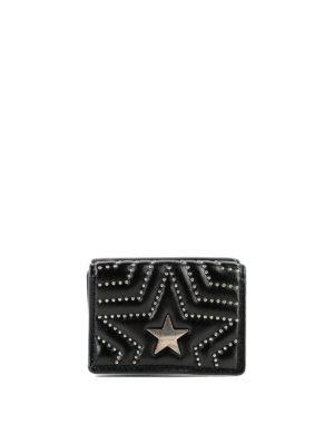 STELLA McCARTNEY: portafogli - Portafoglio Stella Star con borchie e logo