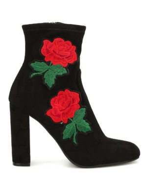 Steve Madden: ankle boots - Edition rose patch booties