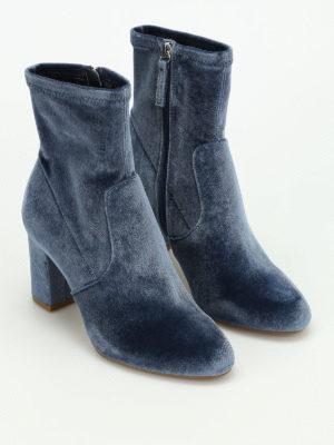 Steve Madden: ankle boots online - Avenue velvet ankle boots
