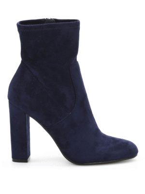 Steve Madden: boots - Editt suede effect fabric boots