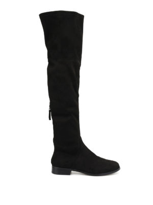 Steve Madden: boots - Odessa micro suede cuissardes