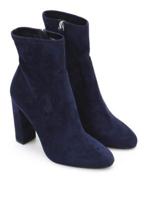 Steve Madden: boots online - Editt suede effect fabric boots