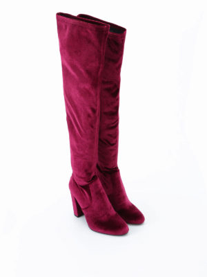 Steve Madden: boots online - Emotion velvet sock boots