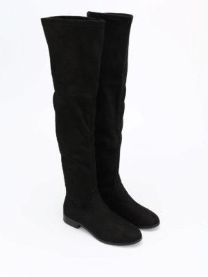 Steve Madden: boots online - Odessa micro suede cuissardes