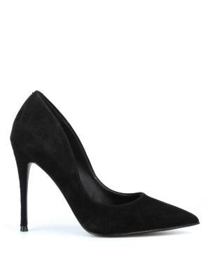 Steve Madden: scarpe décolleté - Décolleté Daisie in camoscio nero
