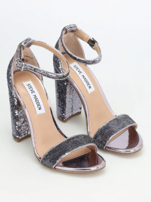 Steve Madden: sandals online - Carrson sequined sandals