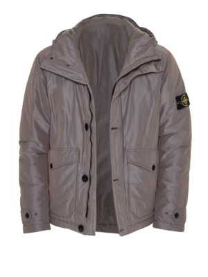 Stone Island: casual jackets - Hooded casual jacket