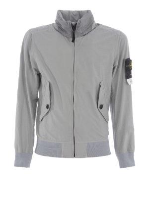 Stone Island: casual jackets - Light Cotton Nylon Twill jacket