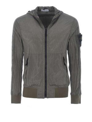 STONE ISLAND: giacche casual - Giacca militare Nylon Metal Watro
