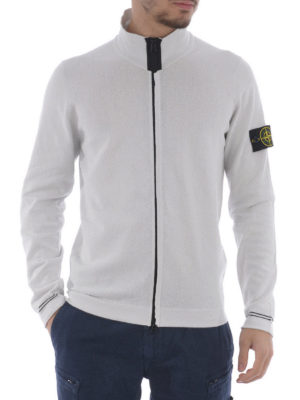 Stone Island: casual jackets online - Cotton zipped cardigan