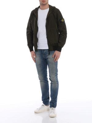 Stone Island: casual jackets online - Taffeta effect nylon jacket