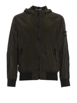 Stone Island: casual jackets - Taffeta effect nylon jacket