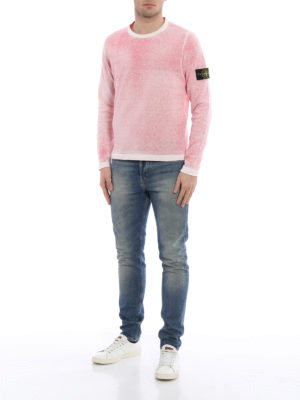 Stone Island: crew necks online - Reversible cotton crewneck