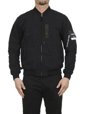 STONE ISLAND: giacche bomber online - Bomber in Naslan antigoccia nero