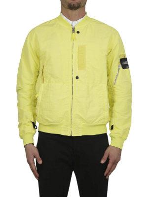 STONE ISLAND: giacche bomber online - Bomber in Naslan antigoccia limone