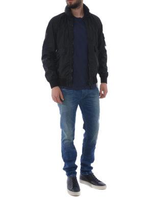 STONE ISLAND: giacche casual online - Giacca blu Membrana 3L TC