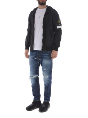 STONE ISLAND: giacche casual online - Giacca nera in Nylon Metal Watro
