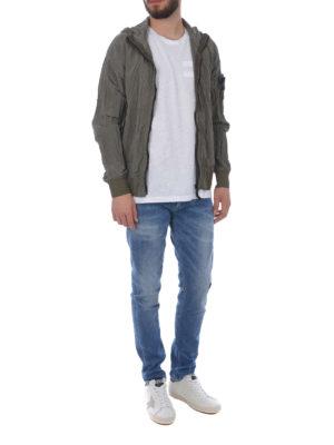 STONE ISLAND: giacche casual online - Giacca militare Nylon Metal Watro