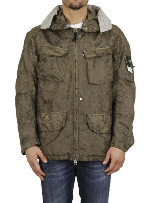 STONE ISLAND: giacche casual online - Giacca in nylon metal Spider Watro