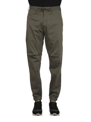 STONE ISLAND: pantaloni casual online - Pantaloni ampi in rasatello stretch