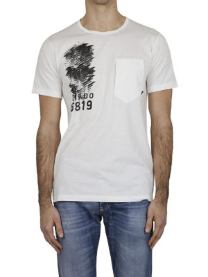 STONE ISLAND: t-shirt online - T-shirt in jersey makò con stampe