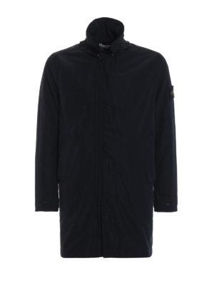 STONE ISLAND: cappotti imbottiti - Trench in Micro Reps leggermente imbottito