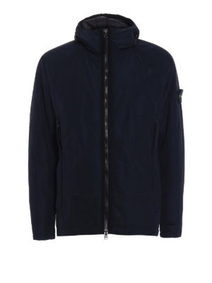 Stone Island: padded jackets - Reps Nylon hooded padded jacket