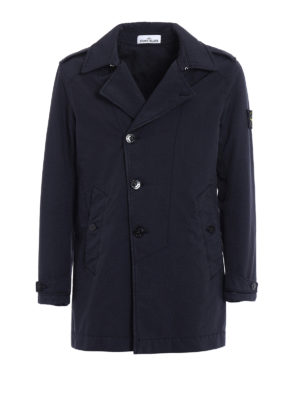 Stone Island: trench coats - David-TC slightly padded trench