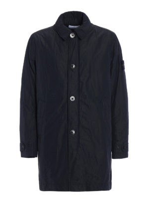 Stone Island: trench coats - Micro Reps slightly padded trench